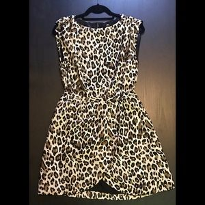 H&M Leopard Print Dress